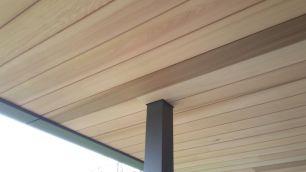 Ceder plafond terras (detail)